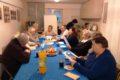 Radość ze spotkania seniorów